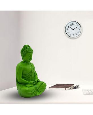 Resin Radium Green Buddha