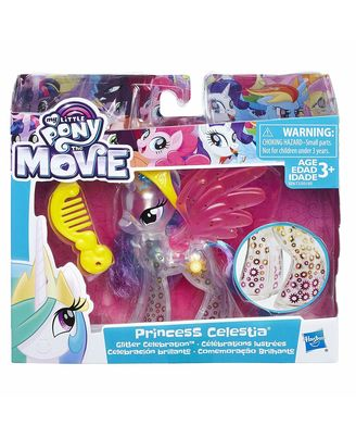 My Little Pony The Movie Princess Celestia Glitter Celebration Doll, Ages 3 and Up