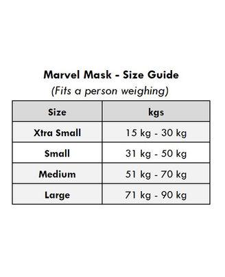 Marvel - Mini Avengers N95 Face Mask - Size S
