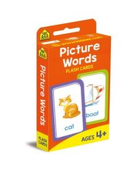 Picture Words Flash Cards, na