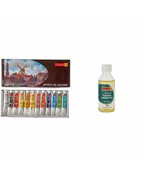 Artist's Oil Colour Box (20ml X 12 Shades)