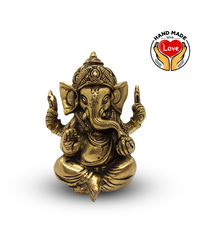 3Inches Ganesha Crown With 4 Hands