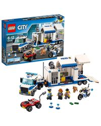 Lego City Mobile Command Center Building Blocks, Age 6+