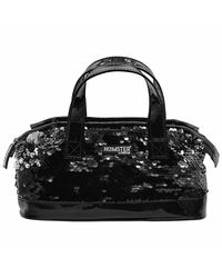 Hamster London shiny sling Bag Black, mix