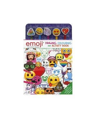 Emoji: Drawing Colouring And Activity Book, na