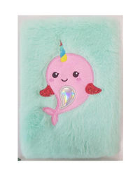 Little Dolphie Plushnotebook, mix