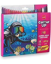 Cello Colour Up Wax Crayons
