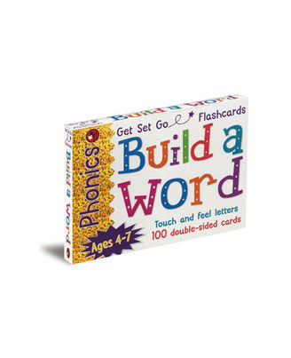Phonics Get Set Go Flashcards Build A Word, multi