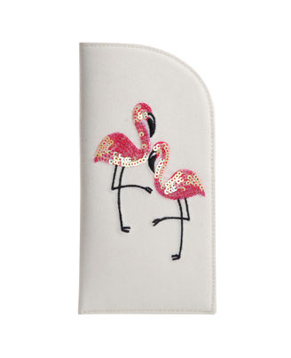 Flamingo Blush Spectacle Cover