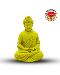 Resin Yellow Buddha
