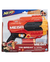 NERF Guns Mega Tri Break Blaster, Age 8+