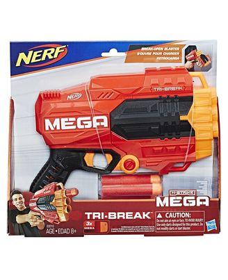 NERF Guns Mega Tri Break Blaster, Age 8+