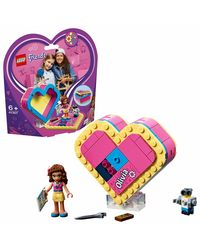 Lego Friends Olivia'S Heart Box Building Blocks, Age 6+