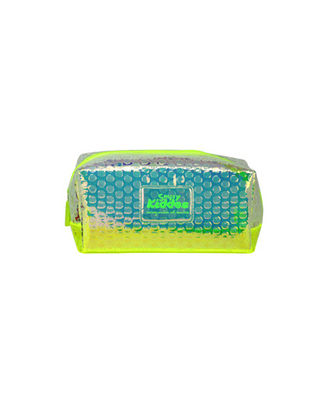 Smily Bubble Utility Pouch Green, green