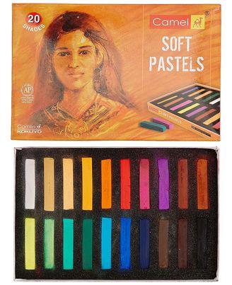 Camlin Soft Pastels 20 Shades