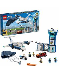 Lego City Sky Police Air Base Building Blocks, Age 8+