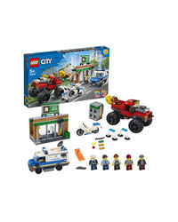 Lego City Police Monster Truck Heist Building Blocks, Age 5+