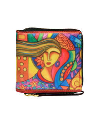 Wallets And Clutches: W04-04, multicolour, multicolour