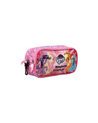 My Little Pony Pink Double Zip Pouch