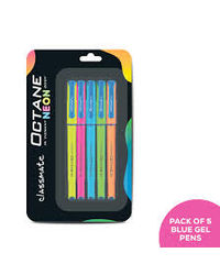 Classmate Octane Neon Ball Pen Pack Of 5