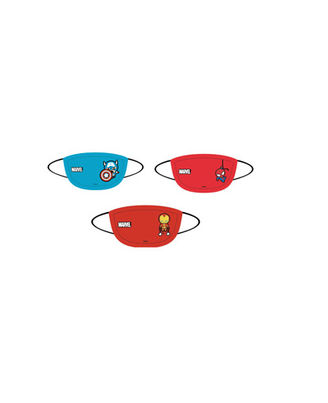 Marvel Kids Face Mask - Captain America, Spiderman & Iron Man