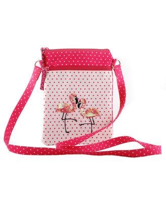 Flamingo Blush Sling Bag
