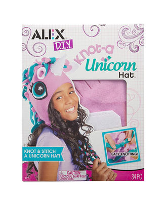 Alex Toys Diy Knot A Unicorn Hat, Age 6+