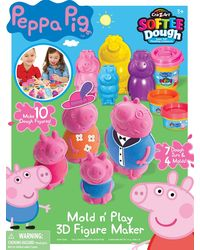 Peppa Pig Softee Dough Large Fig Maker, Age 3 To 5 Years