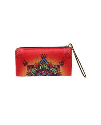 Wallets And Clutches: W01-31R, multicolour, multicolour