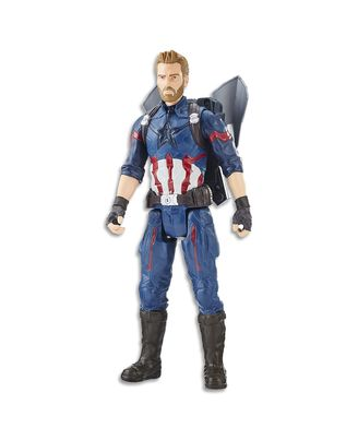 Avengers 12 Inch Titan Hero Power Fx Captain America Action Figure, Age 4+