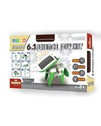 Dr. Mady 6 In 1 Solar Power Robotics Kit, Age 6 To 8 Years