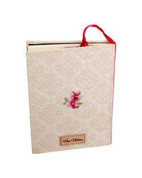 Tea Cup Notebook 7X5 Inch B6