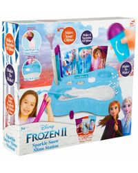 Disney Frozen 2 Slime Sparkle Snow Station, Age 6 To 8 Years