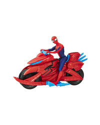 Spiderman Spiderman With Cycle