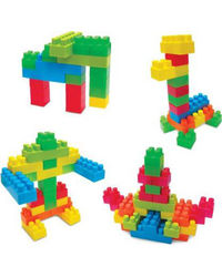 Sunta: Edu Blocks - 150Pcs (In Pvc Bag) , Age 3+