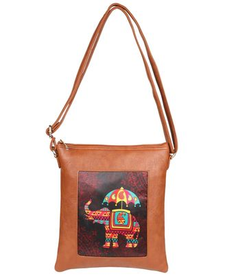 Sling Bags: S19-139, cherrywood red