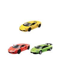 "Maisto 4.5"" Lamborghini Car 3 Pack Asst, Age 3+"
