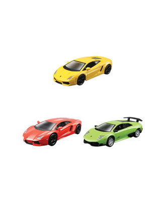 Maisto 4.5  Lamborghini Car 3 Pack Asst, Age 3+