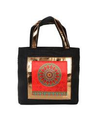 Hand Bag: 171-137, black
