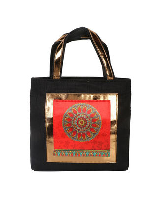 Hand Bag: 171-137, black, black