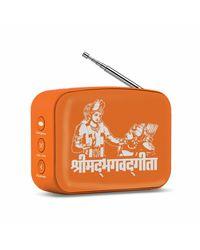 Carvaan Mini 2.0-Dev. Orange-Bhagwad Gita, multicolour