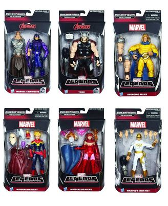 Avengers 6 Infinite Legends Assortment, Multi Color