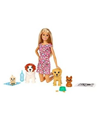 Barbie Doggy Day Care Doll, Age 3+