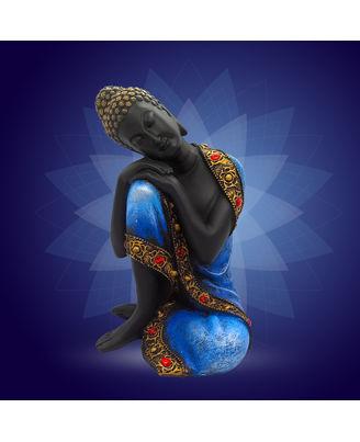 Boy Buddha Blue