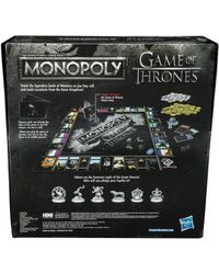 Hasbro Games Monopoly Game Of Thrones, Age 8+