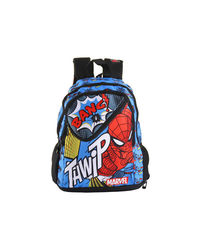 Spiderman School Bag with Lunch Box Compartment 43 cm