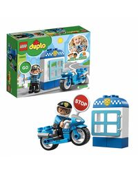 Lego Duplo Police Bike Building Blocks, Age 2+
