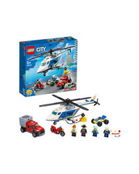 Lego City Police Helicopter Chase Building Blocks, Age 5+