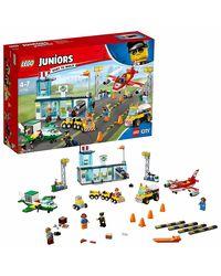 Lego Juniors City Central Airport Building Blocks, Age 4+