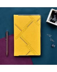 StePPing Stones Motivational Notebook, yellow